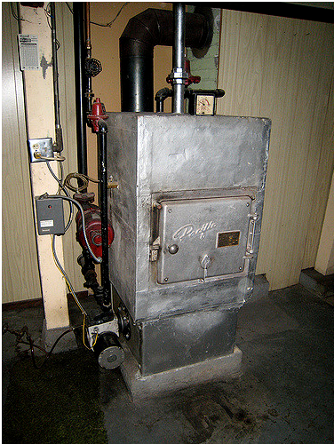 Oil furnaces are steadily being replaced by gas and electric models.